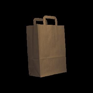 Flachhenkel-papiertasche-braun-26+12x35