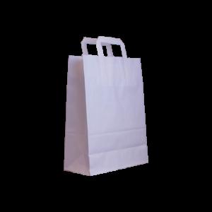 Flachhenkel-papiertasche-weiß-26+12x35