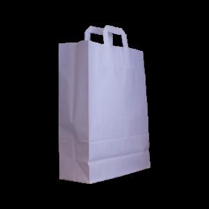 Flachhenkel-papiertasche-weiß-32+12x41