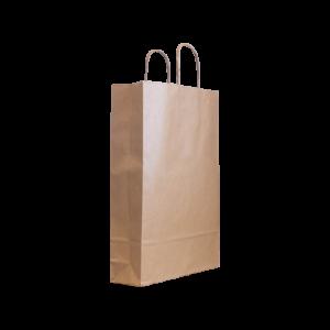 Papierkordeltasche-braun-26+8x39
